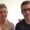 Andreas e Maria raccontano la loro storia dell'arrivo in Ucraina a Kyiv durante la quarantena