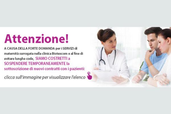 A causa della forte domanda per i servizi di maternità surrogata nella clinica Biotexcom